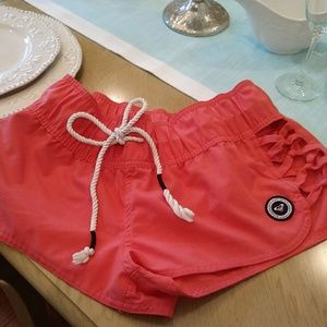 Nautical ROXY swim shorts